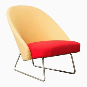 115 Armchair in Two Colors by Theo Ruth for Artifort, 1959