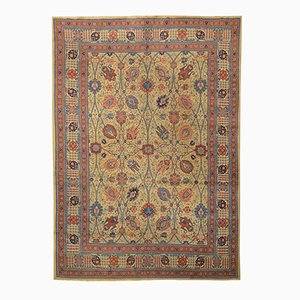 Alfombra de Oriente Medio clásica de lana, década de 1900