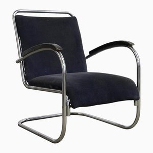 Vintage Dutch Easy Chair by Paul Schuitema, 1930s