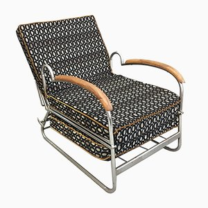 Vintage Adjustable Lounge Chair