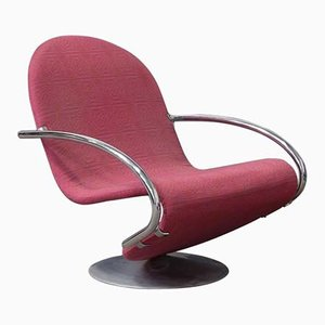 1-2-3 Series Easy Chair in Fabric by Verner Panton, 1970s