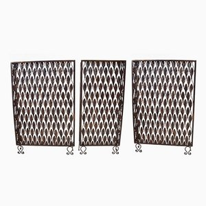 Vintage Radiator Covers, Set of 3