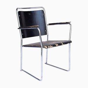 Vintage Stahlrohr Stuhl, 1930er