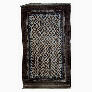 Antique Afghan Baluch Rug, 1880s