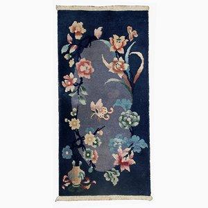 Antiker Chinesischer Teppich, 1920er