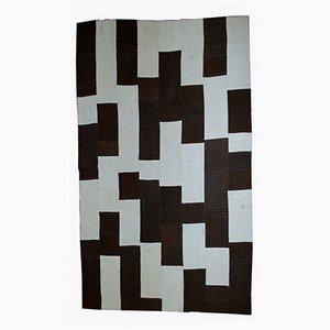Türkischer Vintage Patchwork Teppich, 1970er