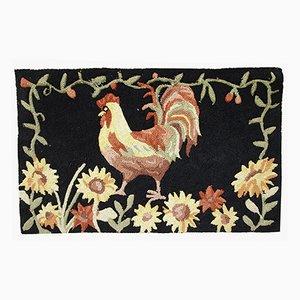 Tapis Crocheté Vintage, États-Unis, 1960s