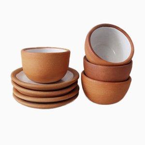 Servizio da tè Cabuche di Ruiz Craftswomen per Colectivo 1050º