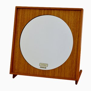 Teak Table Mirror from Glasmäster, 1960s