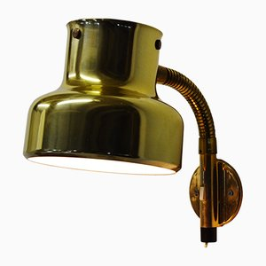 Brass Bumlingen Wall Light by Anders Pehrsson for Ateljé Lyktan, 1960s