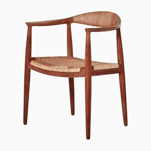 Sedia The Chair JH501 Mid-Century di Hans J. Wegner per Johannes Hansen