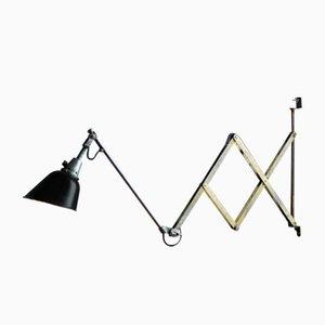 Grande Lampe à Ciseaux Modèle 112 Vintage par Curt Fischer pour Midgard / Industriewerke Auma