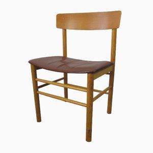 Vintage J39 Shaker Stuhl von Borge Mogensen für Fredericia
