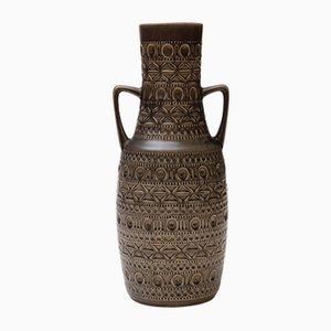 Jarrón de Alemania Occidental de cerámica de Bodo Mans para Bay Keramik, años 60