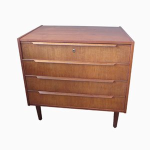 Vintage Danish Teak Commode, 1960s