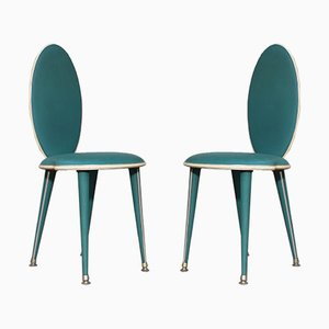 Mid-Century Dining Chairs by Umberto Mascagni, 1950s, Set of 2