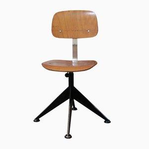 Sedie vintage in legno di Velca Legnano, set di 4