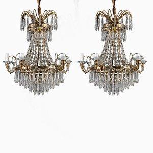 Antique chandeliers online shop shop antique chandeliers at pamono antique chandelier and set of 2 sconces aloadofball Image collections