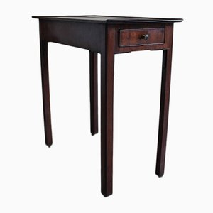 Antique Mahogany Occasional Table on Casters