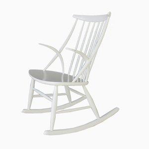 Vintage Danish Rocking Chair by Illum Wikkelsø for N. Eilersen