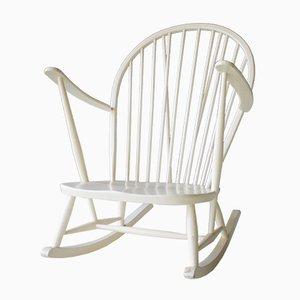 Rocking Chair Vintage par Lucian Ercolani pour Ercol