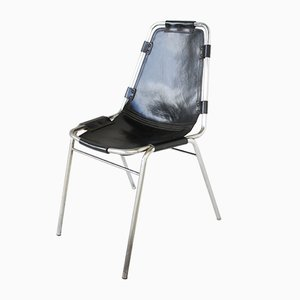 Vintage Les Arcs Stühle von Charlotte Perriand, 2er Set
