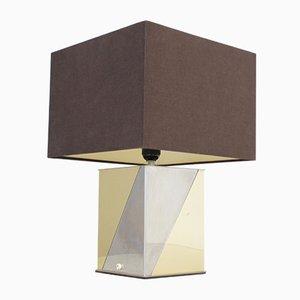 Lampada da tavolo architettonica, anni '70