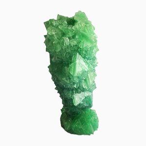 Vaso M 026 in cristallo di Isaac Monté