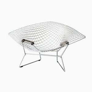 Large Diamond Chair by Harry Bertoia for Knoll, 1950s