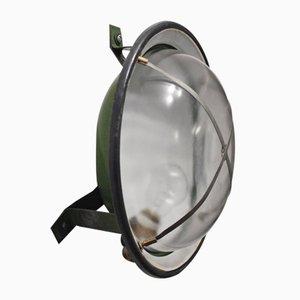 Vintage Fabrik Wandlampe