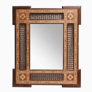 Antiker Spiegel mit Einlegearbeit