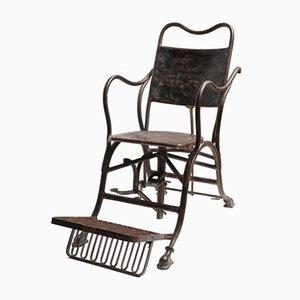 Italienischer Medizinischer Stuhl aus Eisen