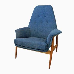 Vintage Teak Easy Chair from De Ster Gelderland, 1950s