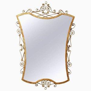 Mid-Century Italian Gilt Mirror