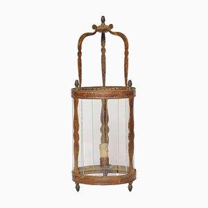 Lanterna da parete antica laccata