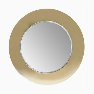 Vintage Curved Mirror by Fontana Arte