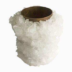 Vaso M 07 in cristallo di Isaac Monté