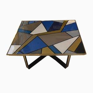Table Opaline, Italie, 1970s