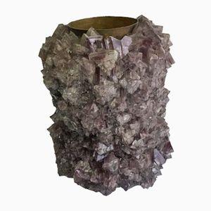 Vase 002 en Cristal par Isaac Monté