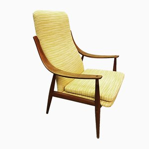 Danish 146 Armchair by Peter Hvidt for France & Søn / France & Daverkosen, 1950s