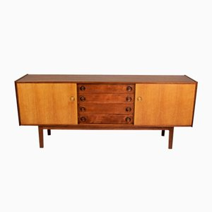 Oak Sideboard by H.W. Klein, 1970s