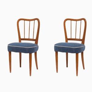 Stühle von Paolo Buffa, 1950er, 2er Set