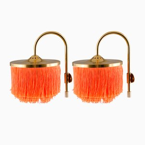 V271 Fringe Wall Lamps by Hans-Agne Jakobsson for Hans-Agne Jakobsson AB Markaryd, 1960s, Set of 2