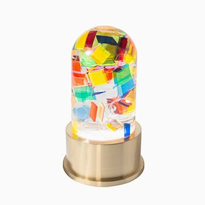 Chaos Cast Acrylic Lamp by Studio Superego