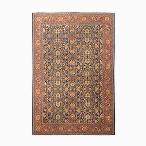 Alfombra de Oriente Medio vintage de lana, años 20