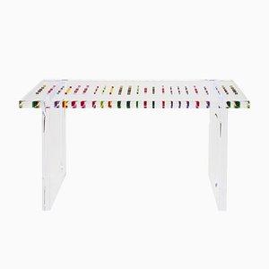 Table Console Pixel en Plexiglas par Poliedrica, 2017