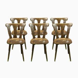 Stühle, 1970er, 6er Set