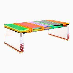 Plexiglas DNA Couchtisch von Studio Superego
