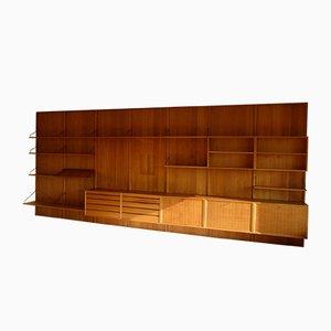Libreria modulare Royal System vintage in teak di Poul Cadovius per Cado