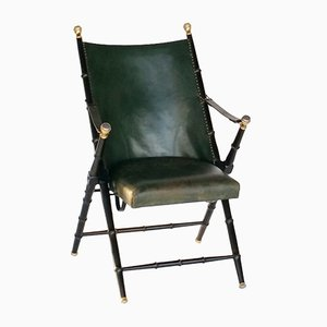 Folding Campaign Chair from Valenti, 1970s